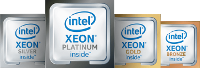 All of these ION server families feature Intel Xeon Scalable Processors.